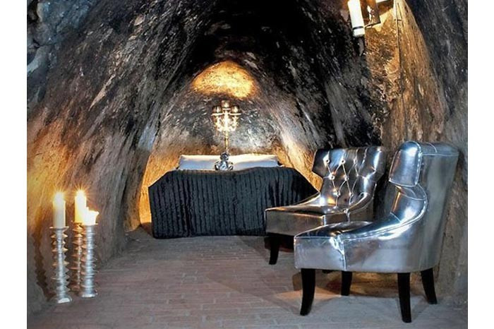 Mağaraya otel kurdular !