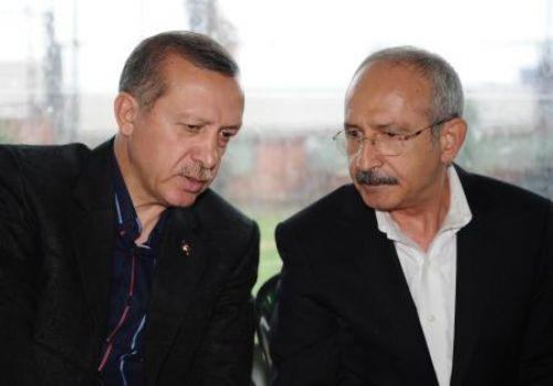 Kılıçdaroğlundan Erdoğana taziye ziyareti