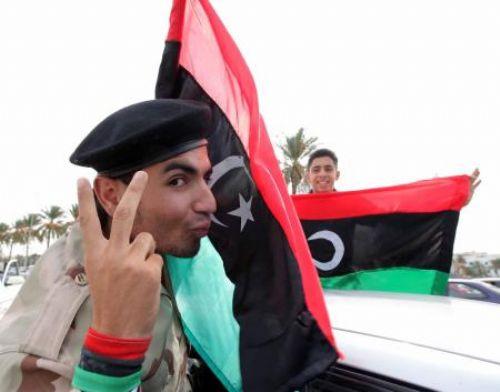 Kaddafinin ölümünü böyle kutladılar