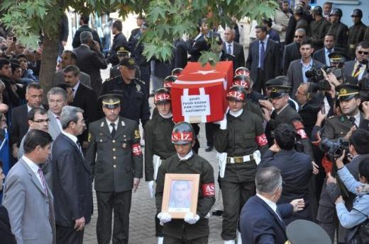 Şehit er Fevzi Kazakın cenazesi