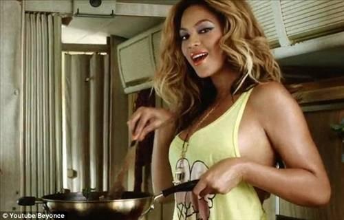Hamile Beyonceun ilk klibi !
