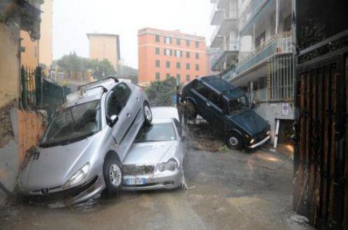 İtalyada sel felaketi