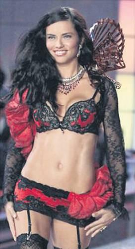 Victorias Secretın 2012 şovundan kareler