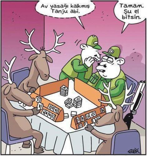 Güldüren karikatürler