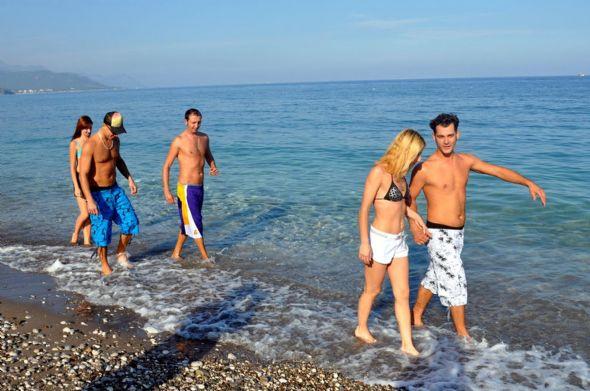 Antalya ve Kemerde kış güneşi