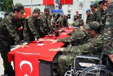 Engelli vatandaşlarımızın 1 günlük askerlikleri