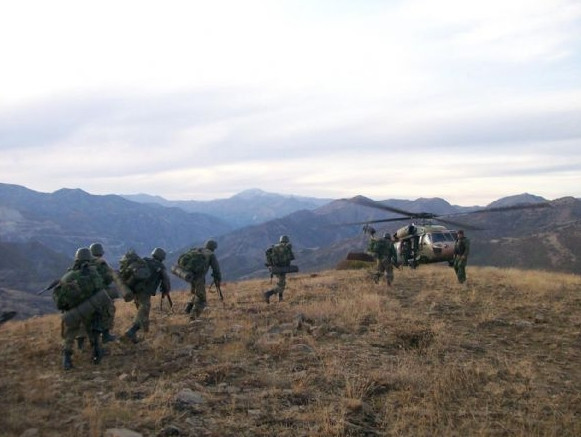 PKK sığınakları böyle yokedildi !