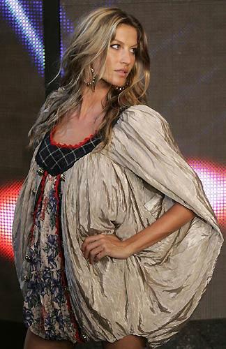 Gisele Bündchen Rio Moda Haftasında