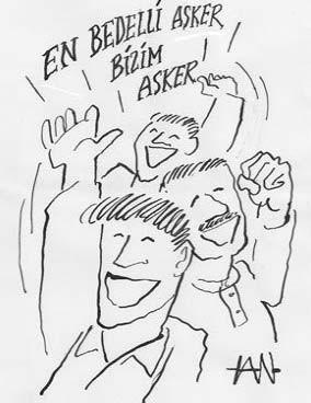 Bedelli karikatürleri