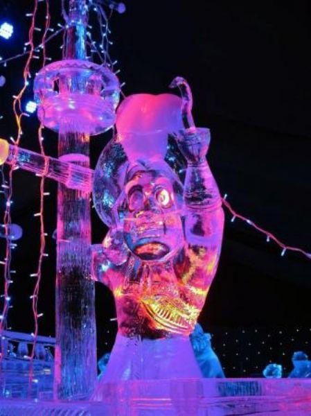 Buzdan heykeller