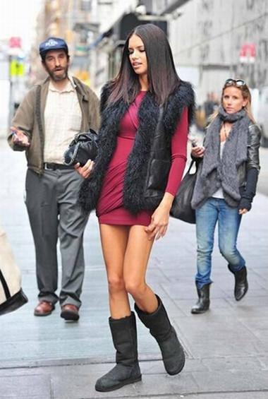 Adriana Lima sokakta sözlü tacize uğradı