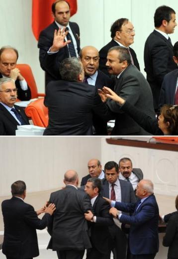 BDPli Kaplan sinirlendi !