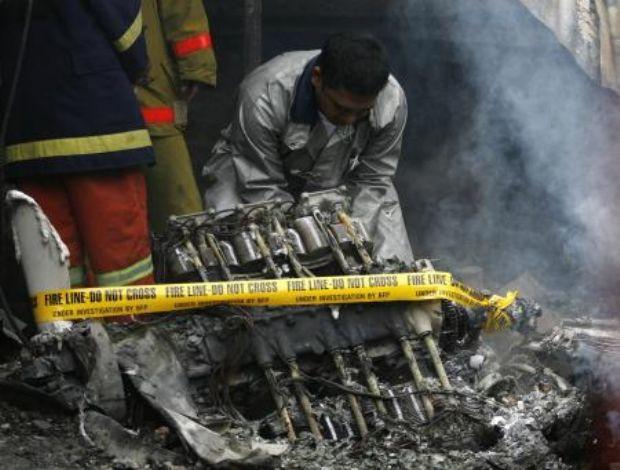 Filipinlerde uçak düştü