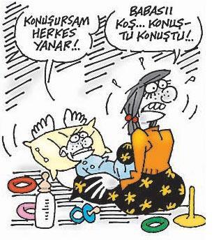 Latif Demirciden yılbaşı karikatürleri