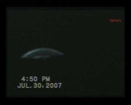 İşte İstanbulda çekilen en net UFO görüntüsü