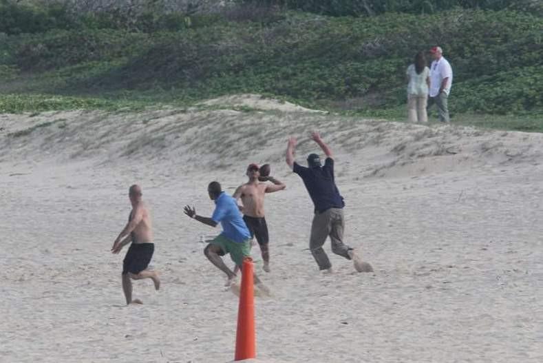Obama plajda