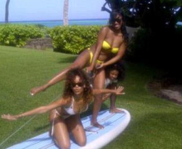 Rihanna tatilde !