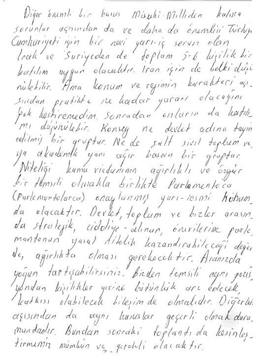 İşte Öcalanın o mektubu