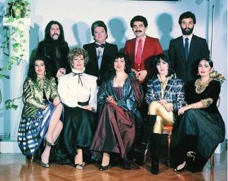 Ünlüler 80li yıllarda böyleydi