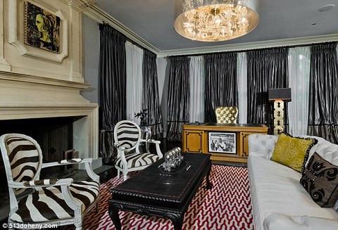 Christina Aguileranın 13 milyon dolarlık evi