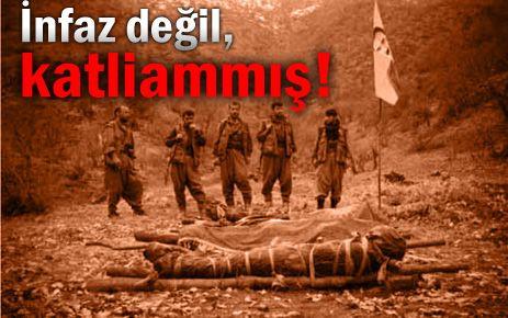 İşte PKKnın katliam listesi