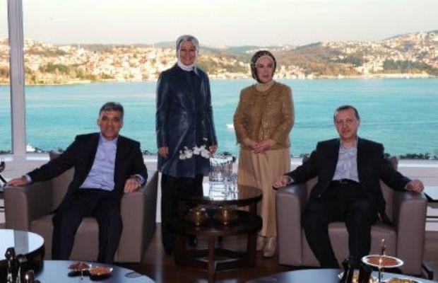 Erdoğan 8 gün sonra evinden çıktı