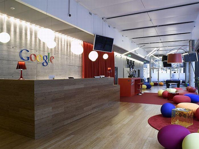 Googleın Zürihteki yeni ofisi