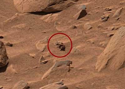 Marstan kafa karıştıran görüntüler