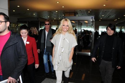 Pamela Anderson İstanbulda