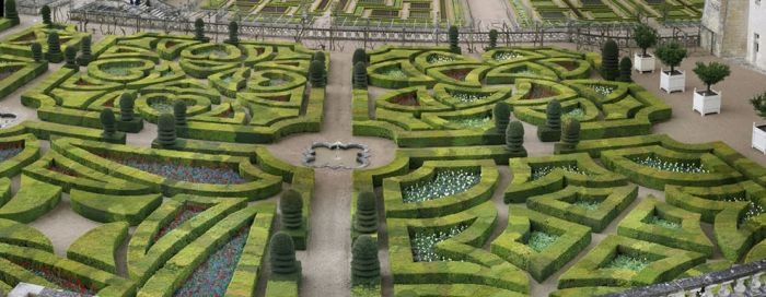 Fransanın romantik bahçeleri