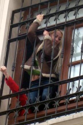 Polis FEMENe böyle müdahele etmiş