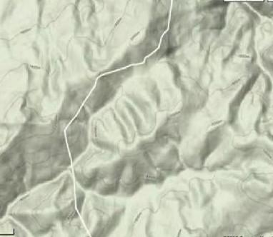 Dağlarda Allah yazısı !