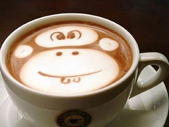 Kahve sanatı !