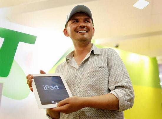 iPad çılgınlığı başladı