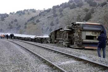 Kütahyada tren faciası