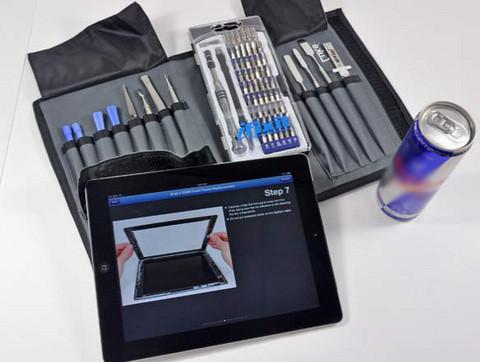 Yeni iPad'in şifreleri çözüldü!