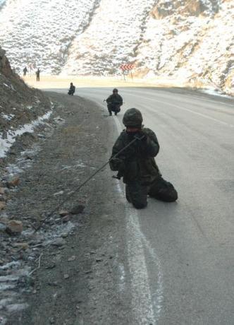 Eksi 30 derecede PKKlı avı