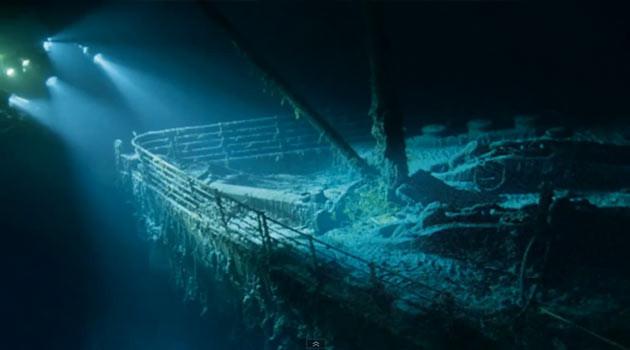 İşte 100 yıl sonra Titanic