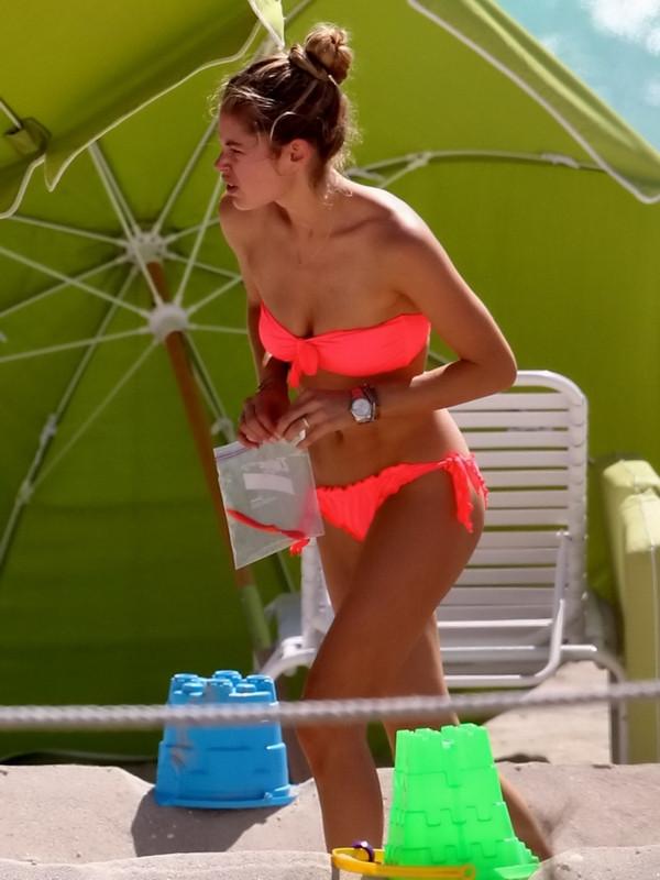 Plaja damga vurdu