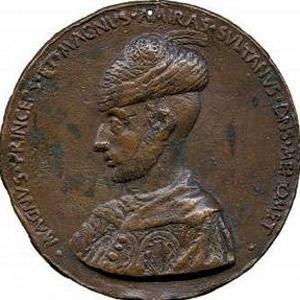 Fatih Sultan Mehmetin portresi