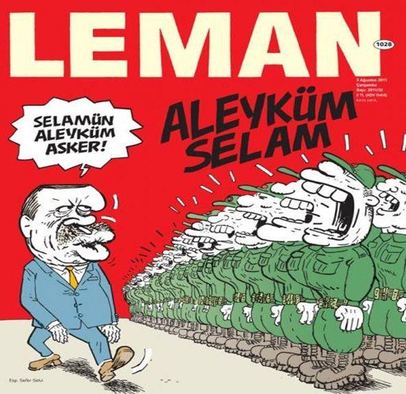Lemanın Erdoğan kapakları !