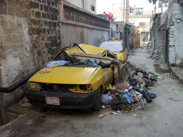 Suriye sokakları harabeye döndü