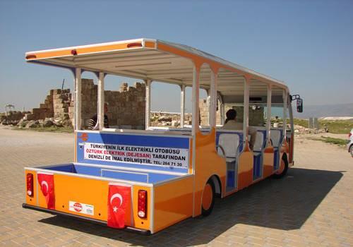 İşte Türkiyenin ilk elektrikli otobüsü