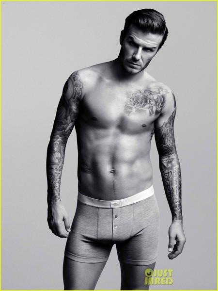 Beckhamdan boxerlı pozlar