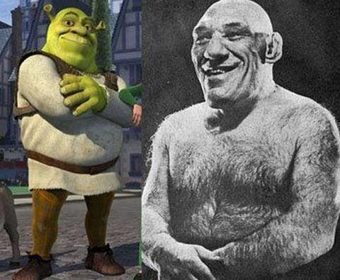 Shrekin gerçek hayatı