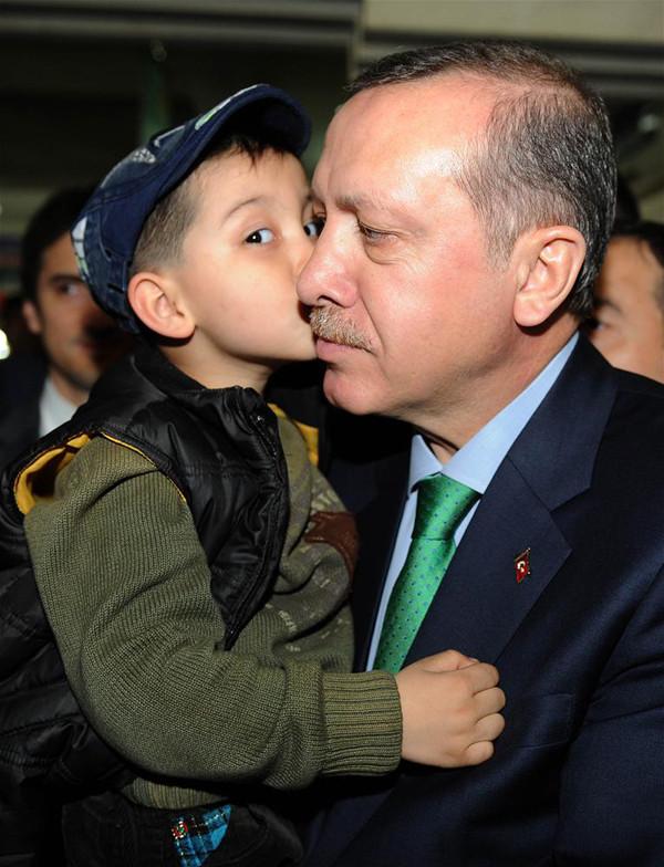Erdoğandan bir ilk !