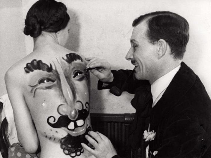 Geçmişte vücut sanatı