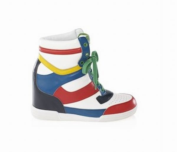 Calf Dorada Sneaker Wedge
