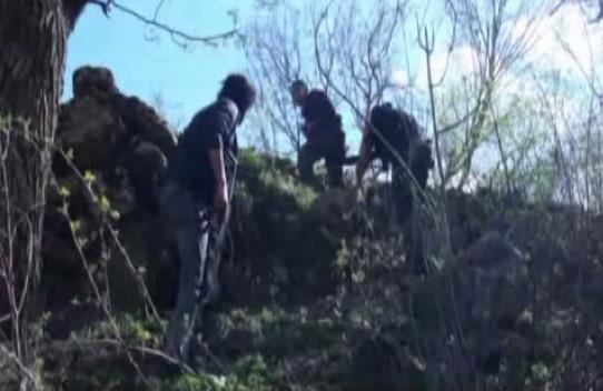 PKK operasyonundan nefes kesen kareler