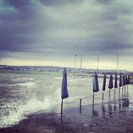 İstanbulda fırtına koptu!